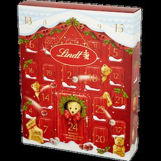 Lindt Bear Adorable Advent House Calendar