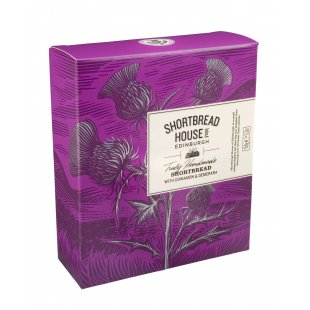 Shortbread House Of Edinburgh Box of Cinnamon & Demerara Mini Biscuits