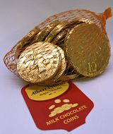 Belgian Chocolate Coins