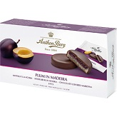Anthon Berg Plums in Madeira Chocolate Marzipan Discs