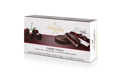 Anthon Berg Cherry in Rum Chocolate Marzipan Discs