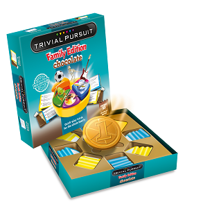 Chocolate Trivial Pursuit Board Game