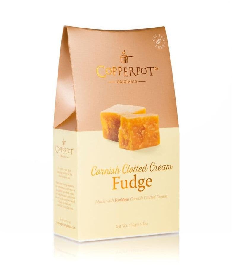 Copperpot Cornish Clotted Cream Fudge