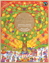 Divine Fairtrade Milk Chocolate Advent Calendar