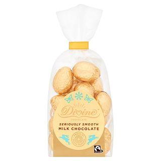 Divine Fairtrade Milk Chocolate Mini Eggs
