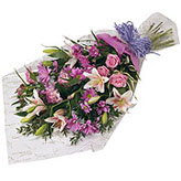 Soft Layered Bouquet of  Flowers