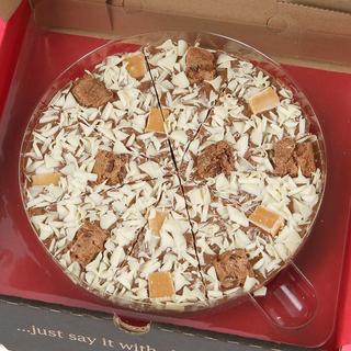 "Crunchy Munchy Chocolate 10"" Pizza"