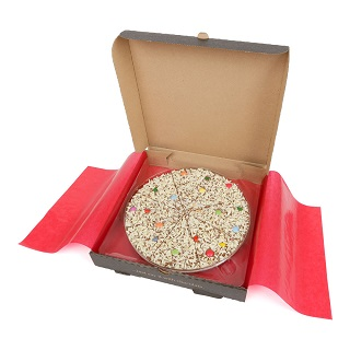 Jelly Bean Jumble Chocolate Pizza Slice