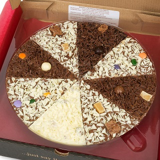 "Delicious Dilemma Chocolate 10"" Pizza"