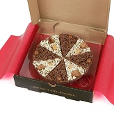 "Double Delight Chocolate 7"" Pizza"