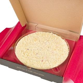"""Raspberrymac Chocolate 7"""" Pizza"""