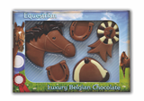 Chocolate Horse Riding Set
