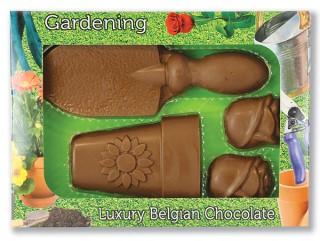 Chocolate Gardening Set