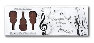 Symphony of Milk Chocolate Violins