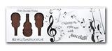 Symphony of Milk Chocolate Violins