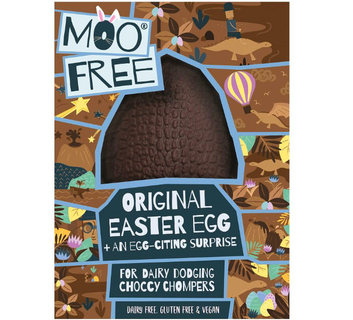 Moo Free Cheeky Orange Easter Egg with buttons