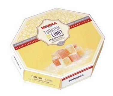 Koska Rose and Lemon Turkish Delight