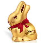 Lindt Gold 100g Milk Chocolate Bunny