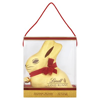 Lindt Giant 1kg Gold Milk Chocolate Bunny