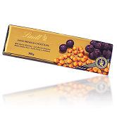 Lindt Milk, Raisin & Hazelnut Gold Bar