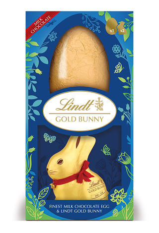 Lindt Gold Bunny Luxury Egg
