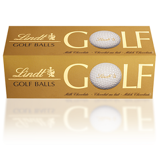 Lindt Chocolate Golf Balls