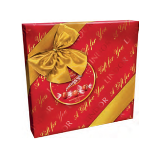 Lindt Milk Chocolate Lindor Gift Box