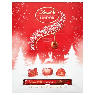 Exclusive Lindt Blissful Assorted Lindor Advent Calendar