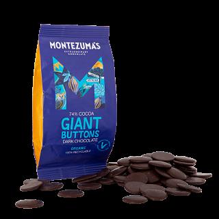 Montezuma's Dark Chocolate Giant Buttons
