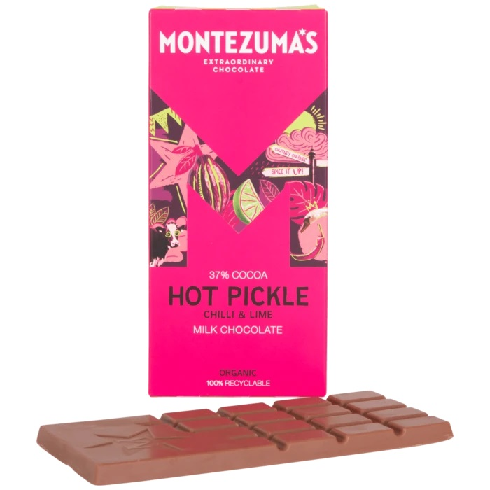 Montezuma's Organic Chocolate Chilli and Lime