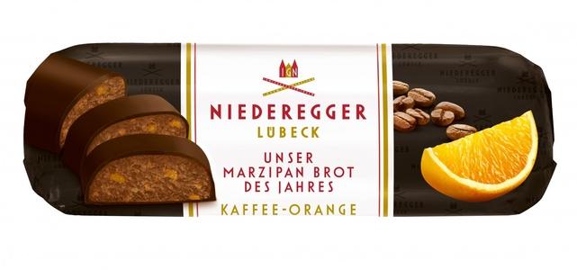 Niederegger Orange & Coffee Marzipan Loaf