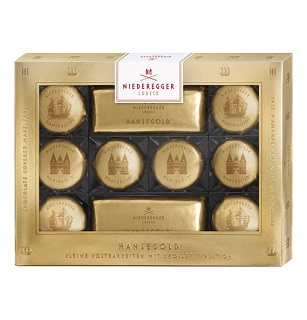 Niederegger Hansegold Marzipan Chocolate