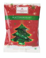 Niederegger Blatter Krokant Chocolate Christmas Decorations