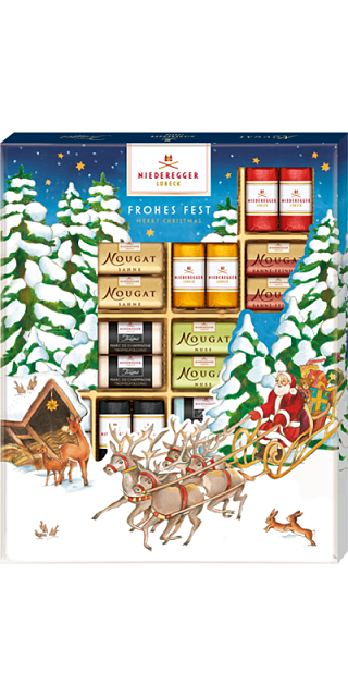 Niederegger Christmas Marzipan Assortment 250g