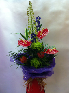 Contemporary Hand-tied Bouquet