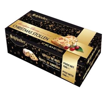 Schlunder Luxury Marzipan & Cherry Christmas Stollen