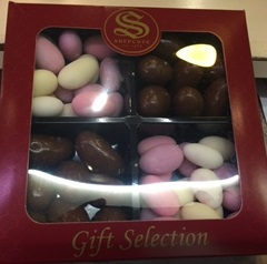 Shepcote Chocolate Brazils and Sugared Almonds - Luxury Selection Box