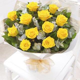 Golden Times Rose  Bouquet
