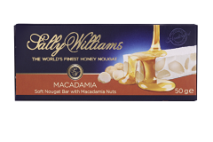 Sally Williams Macadamia Nougat Bar