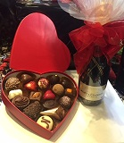 Belgian Chocolate and Valentines Day Champagne