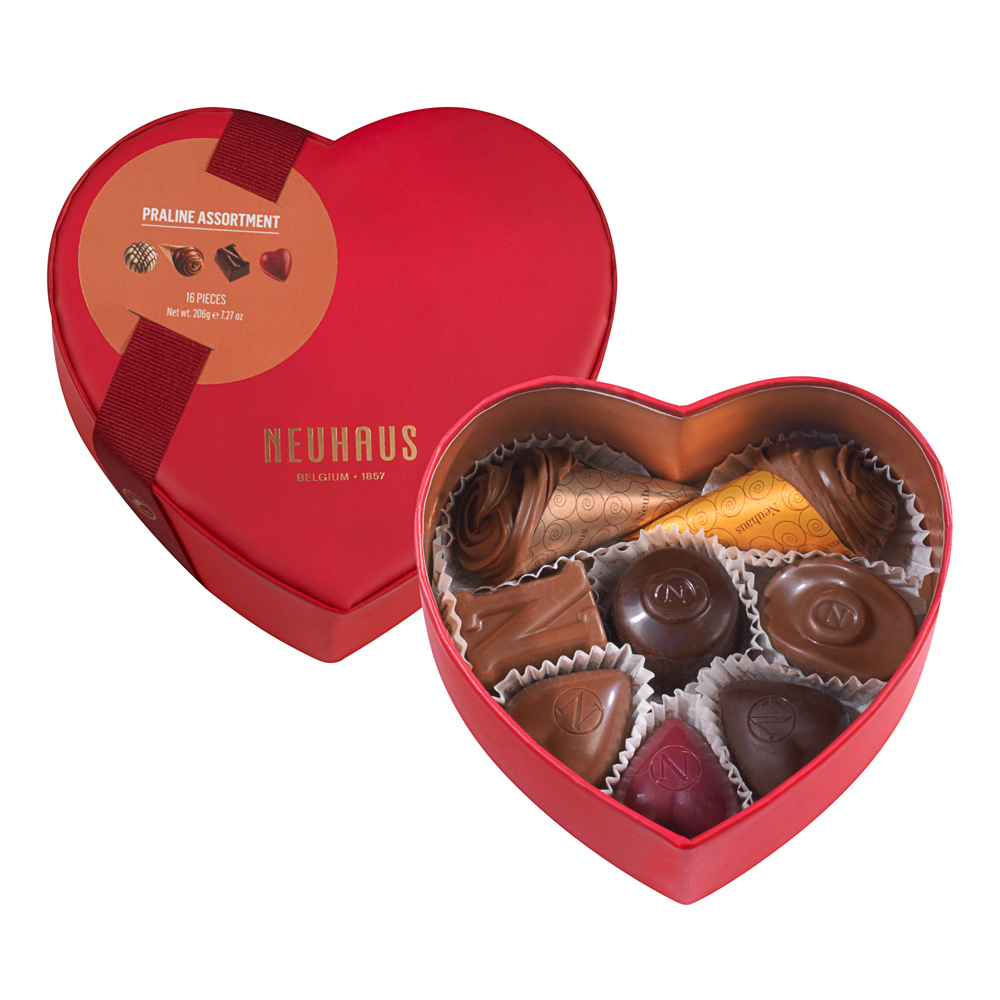Neuhaus Belgian Chocolate Heart Gift Box