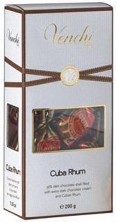 Venchi box of Cuba Rum Truffles