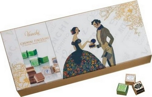 Venchi Heritage Gift Box of Assorted Giandujas