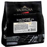 Valrhona Blanc Ivoire 35% 1 kilo bag