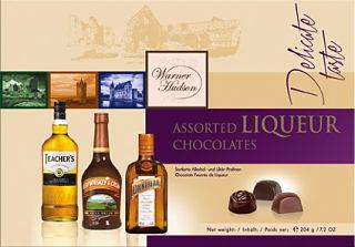 Warner Hudson Assorted Chocolate Liqueurs