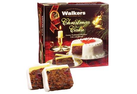 Luxury Christmas Cake with brandy
