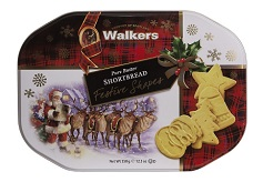 Walkers Shortbread Festive Shapes Tin