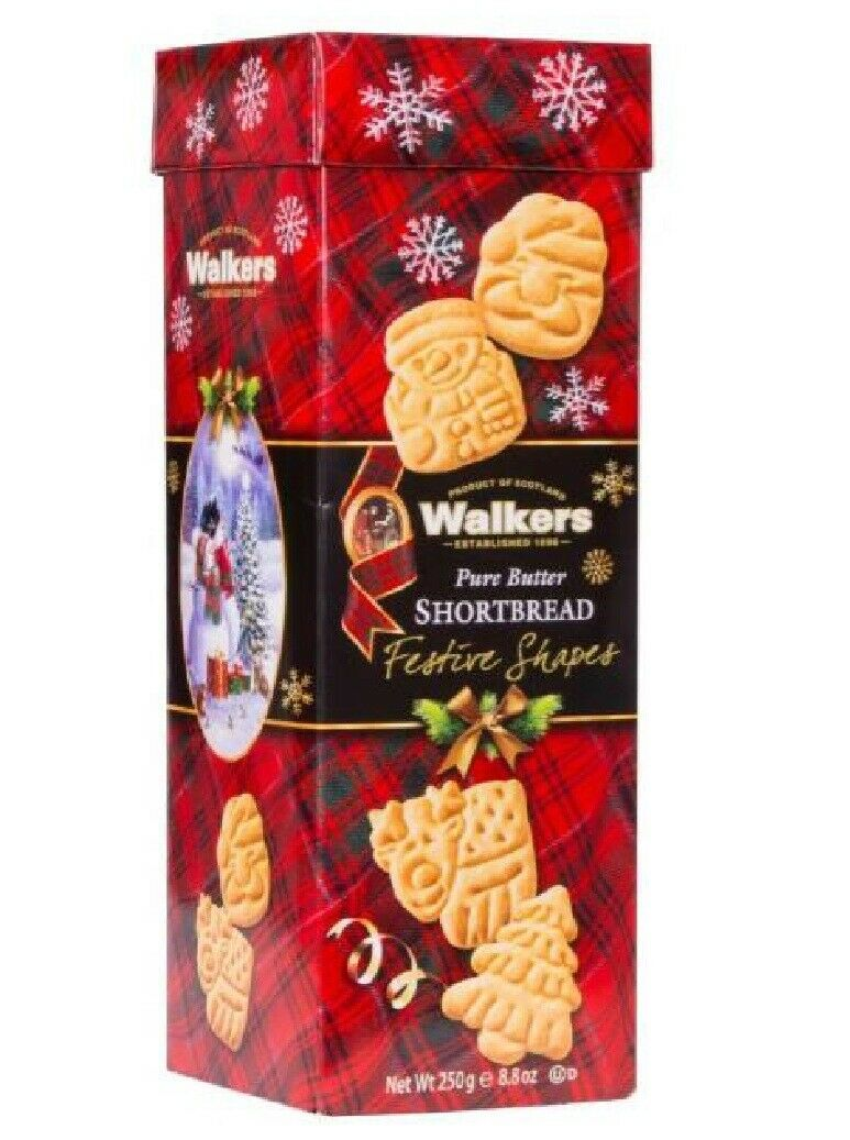 Walkers Shortbread Festive Shapes Box