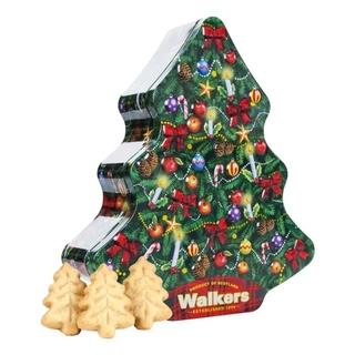 Walkers Mini Shortbread Christmas Trees Tin