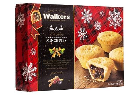 Walkers Luxury Mince Pies